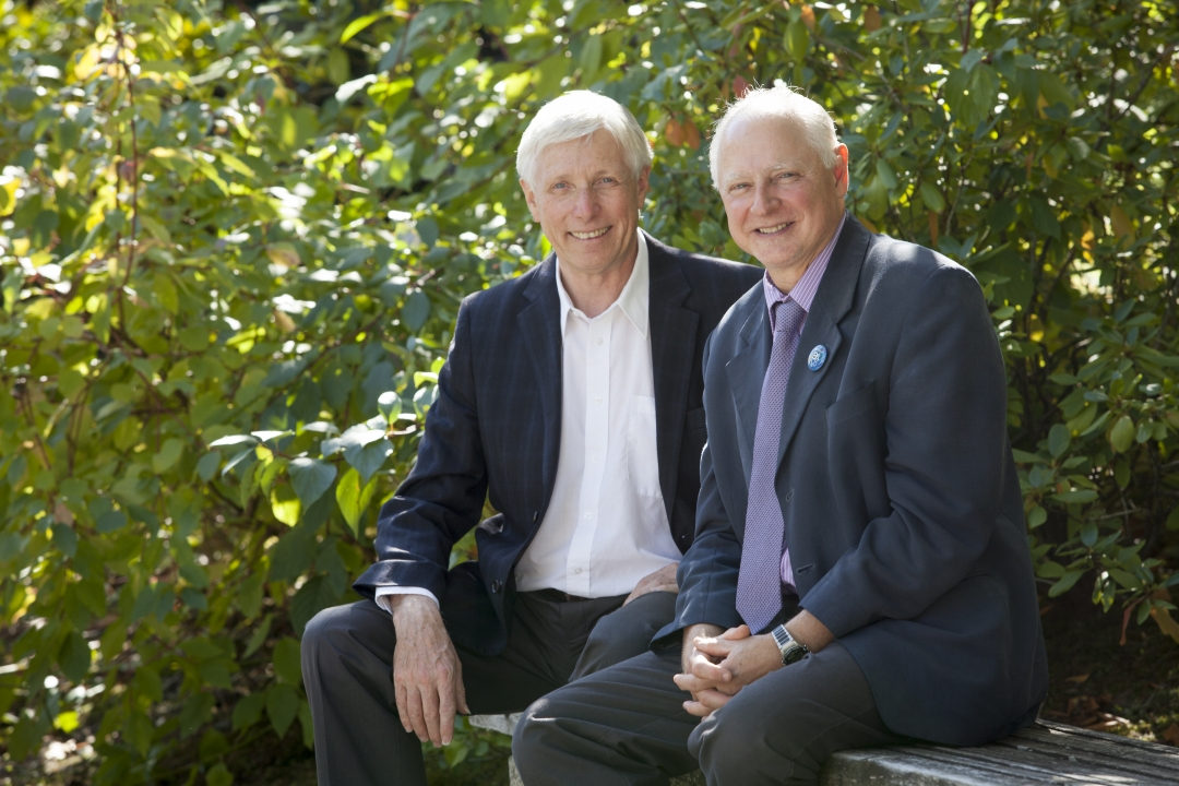 John Black, Dean, Social Sciences and Ross McKay, Dean, Arts & Humanities