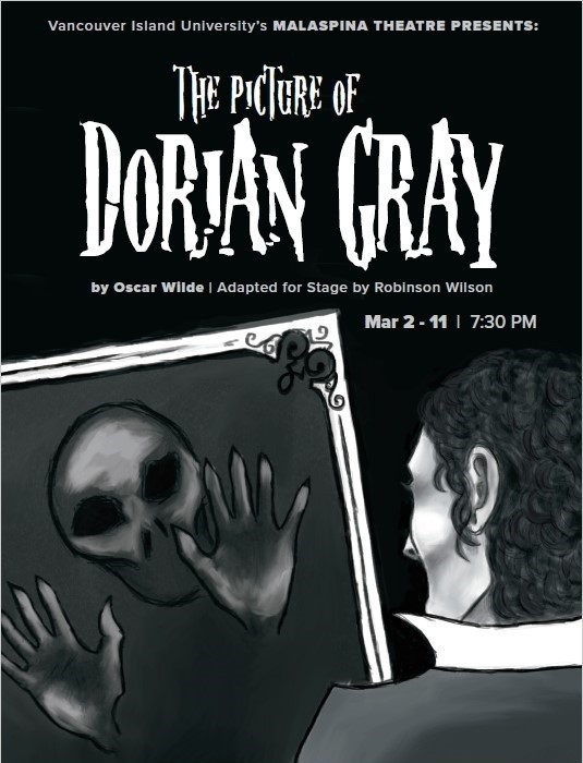 "Spring 2017 - ""The Picture of Dorian Gray"" Poster"