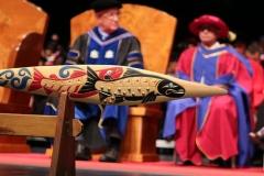 VIU Ceremonial Paddle