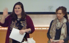 Danielle Holmes, Chair, and Victoria, Event Coordinator, welcome everyone to the Anthropology Forum 2018