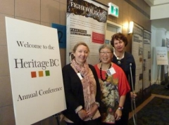 HeritageBC Conference, New Westminster - 11 May 2018