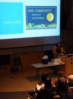 Jaime Stephens internship at CVIMS presentation
