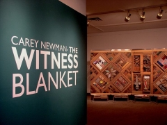 "Entering ""The Witness Blanket"" Art Installation at The View Gallery"