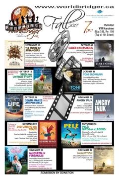Worldbridger Film Series, Fall 2017