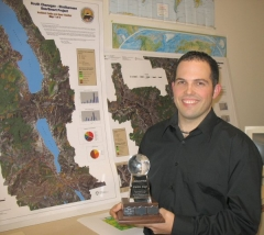 Steve with the Carto Cup