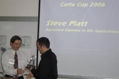 The winner, Steve Platt